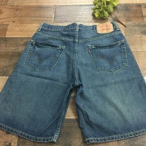 Levi's 550 Relaxed Fit Blue Jean Shorts Sz. 32